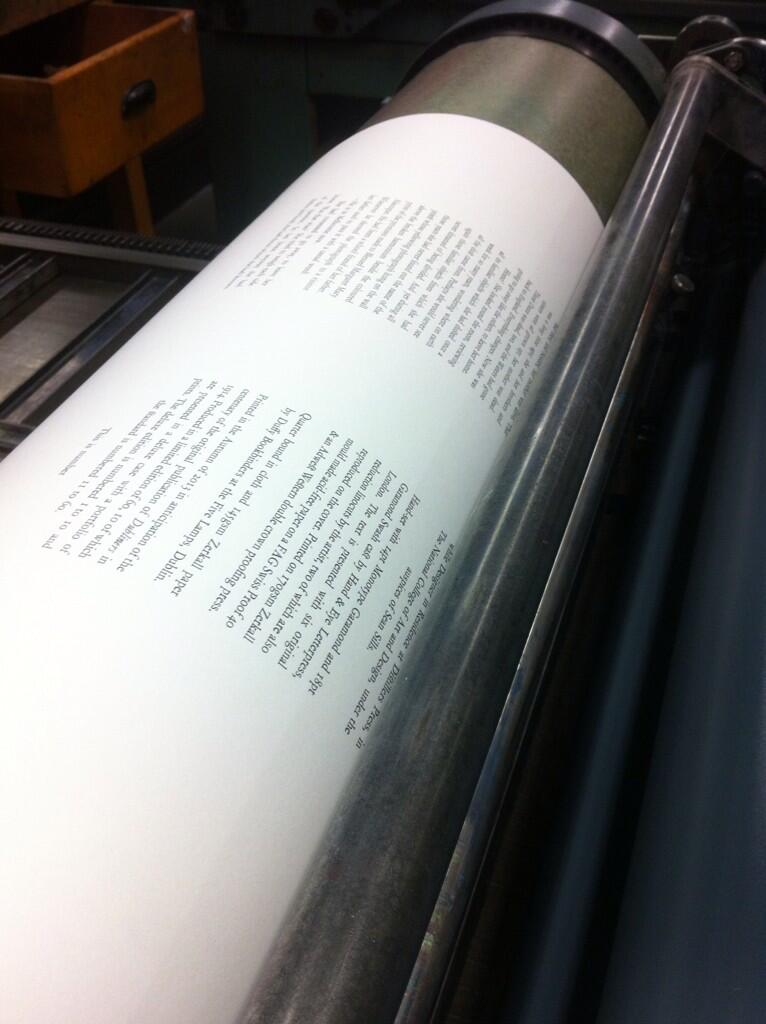 Printing the text